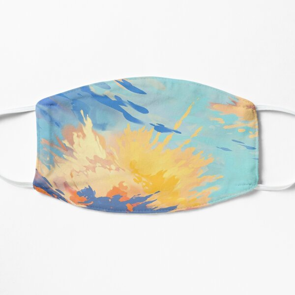 Sea Of Endless Clouds Flat Mask