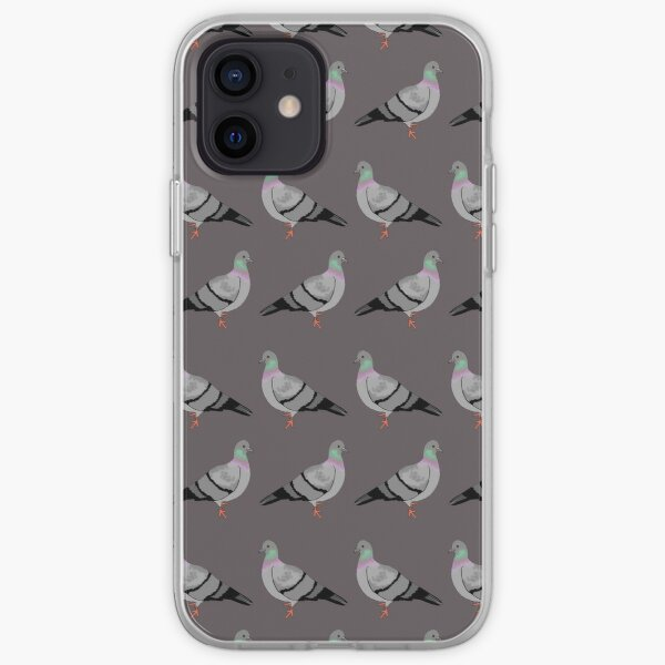 Pigeon walk iPhone Soft Case