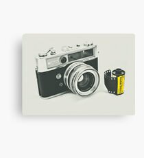 Retro photography Canvas Print