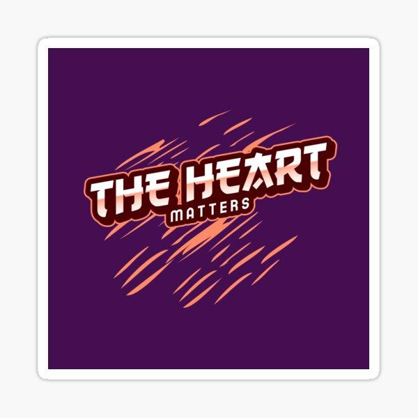 The Heart Matters Brand Sticker