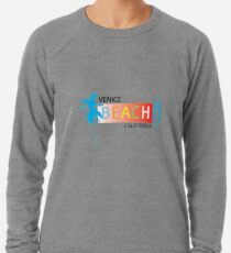 Venice Beach T-shirt, Sticker, iPhone Case, Tablet Case, Print, Mug and More Lightweight Sweatshirt