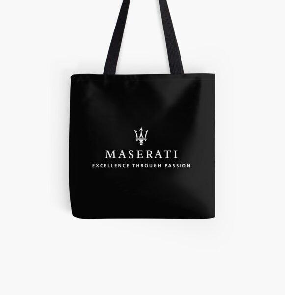 MEJOR PARA COMPRAR - Maserati Bolsa estampada de tela