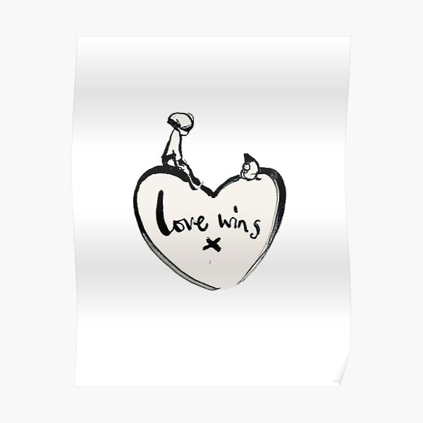Charlie Mackesy Love Wins Poster