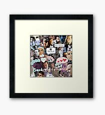 Moriarty (Collage) Framed Print