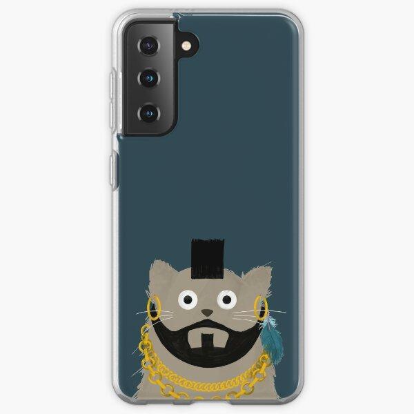 Cat MrT  Samsung Galaxy Soft Case