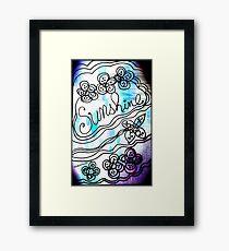 Rachel Doodle Art - Sunshine Framed Print