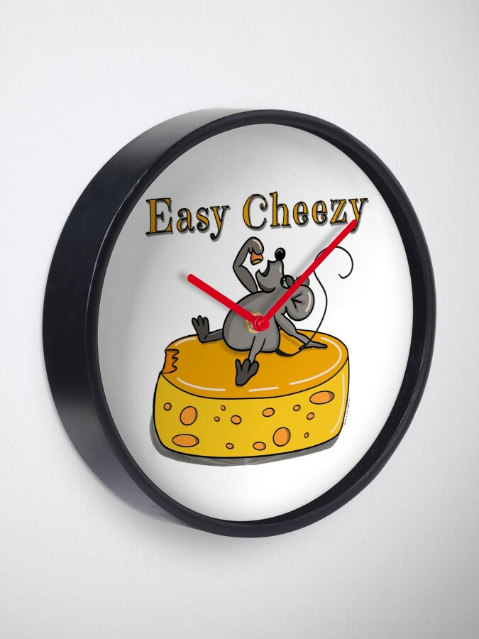 Alternate view of Easy Cheezy Clock