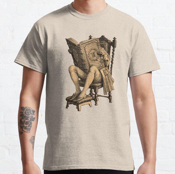 Ex Libris, el lector inveterado Camiseta clásica