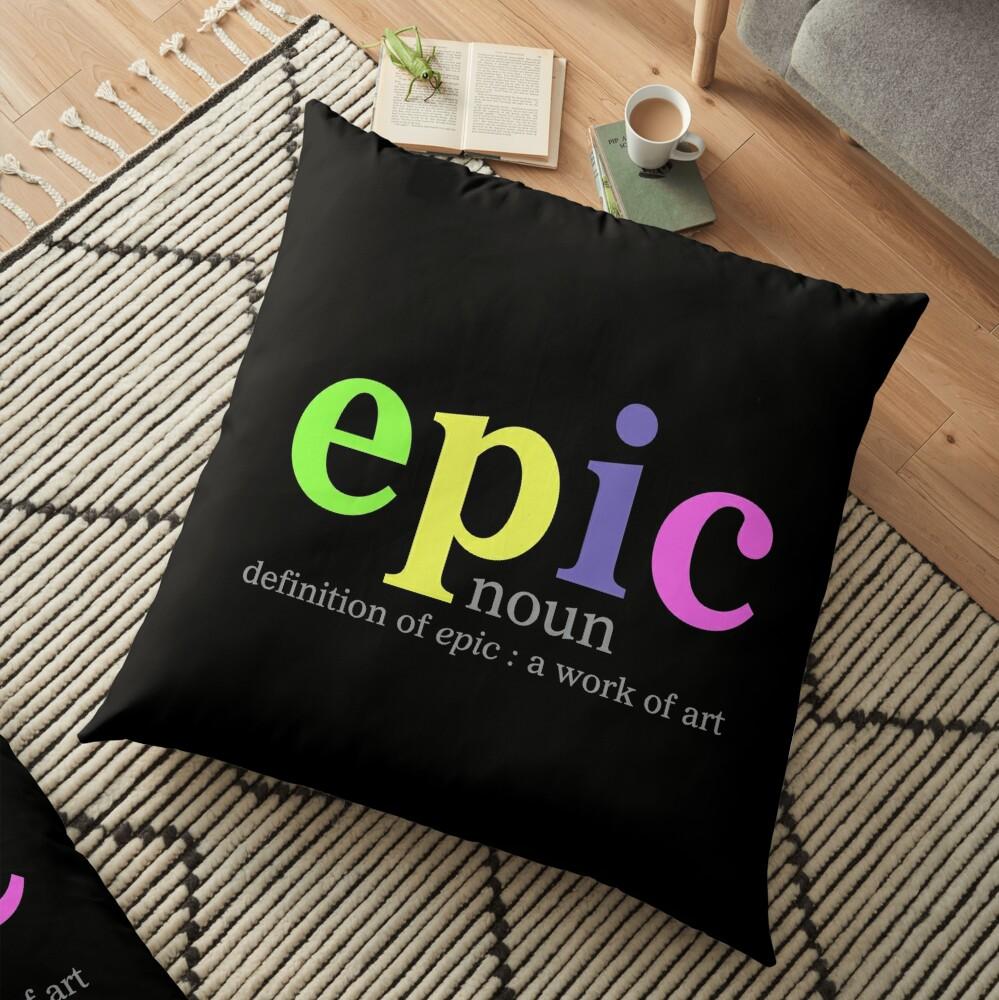 Epic Floor Pillow