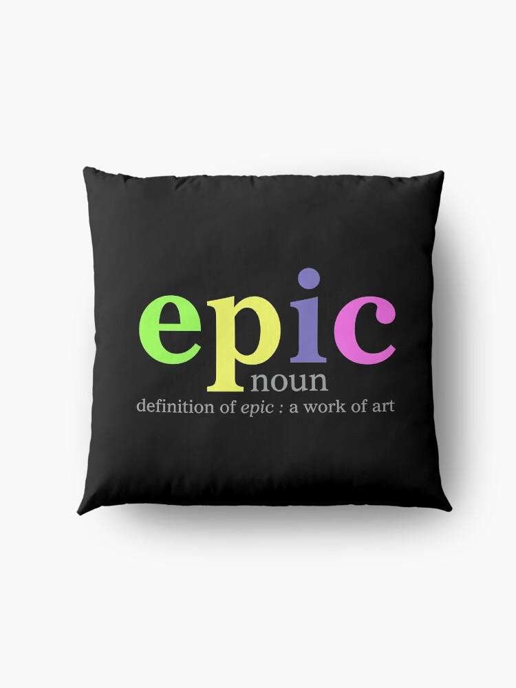 Alternate view of Epic Floor Pillow