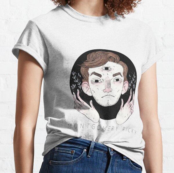 COUVERTURE D'ALBUM MONTGOMERY RICKY BLANC T-shirt classique