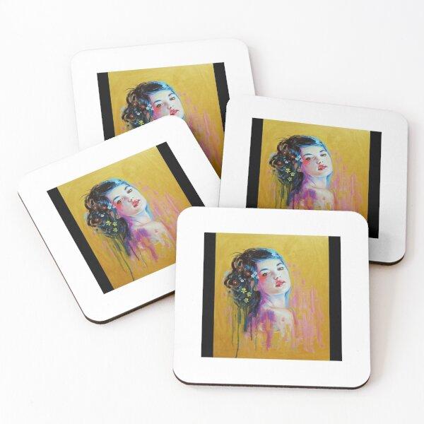 Women imagination Coasters (Set of 4)