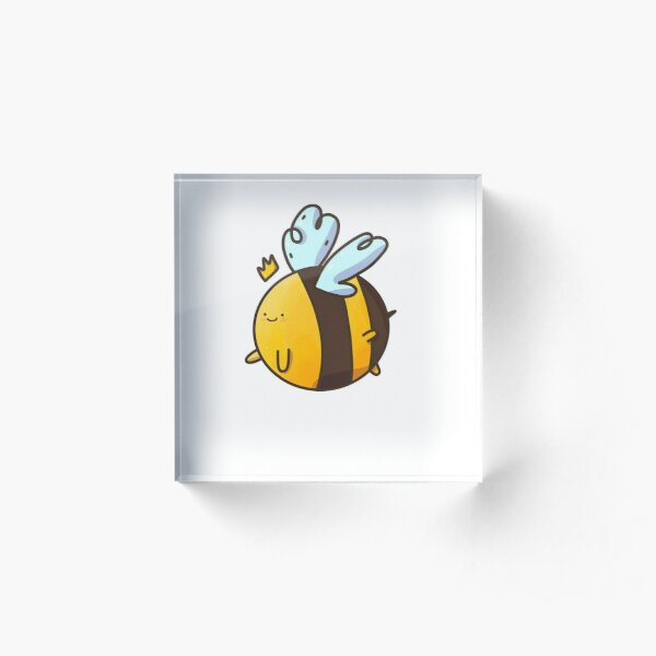 Cute Lil Bee Acrylic Block