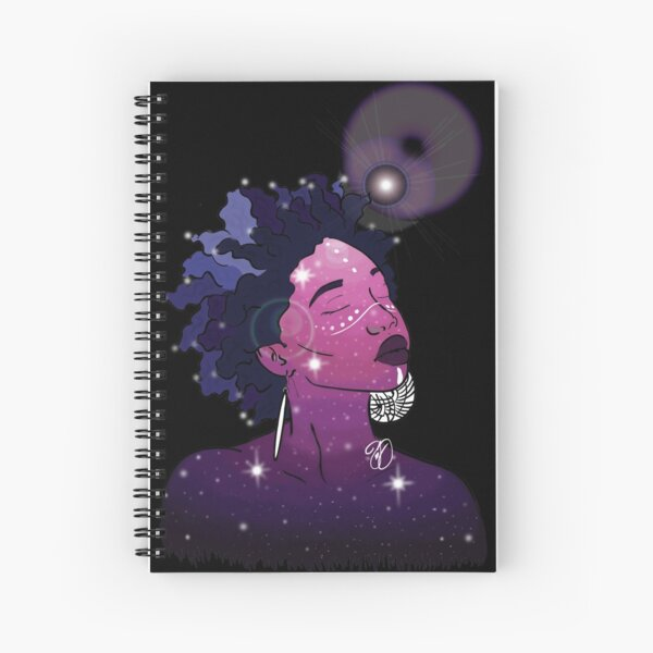 Higher in The Stars Spiral Notebook