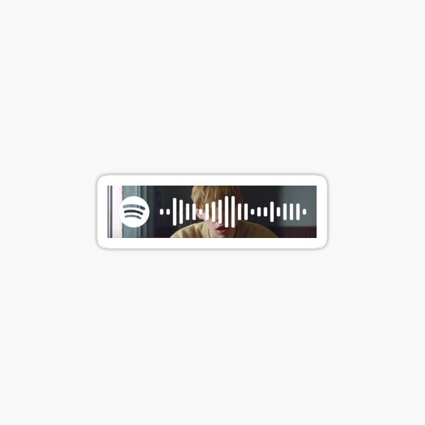 Also fertig - The Kid Laroi - Spotify Code Sticker