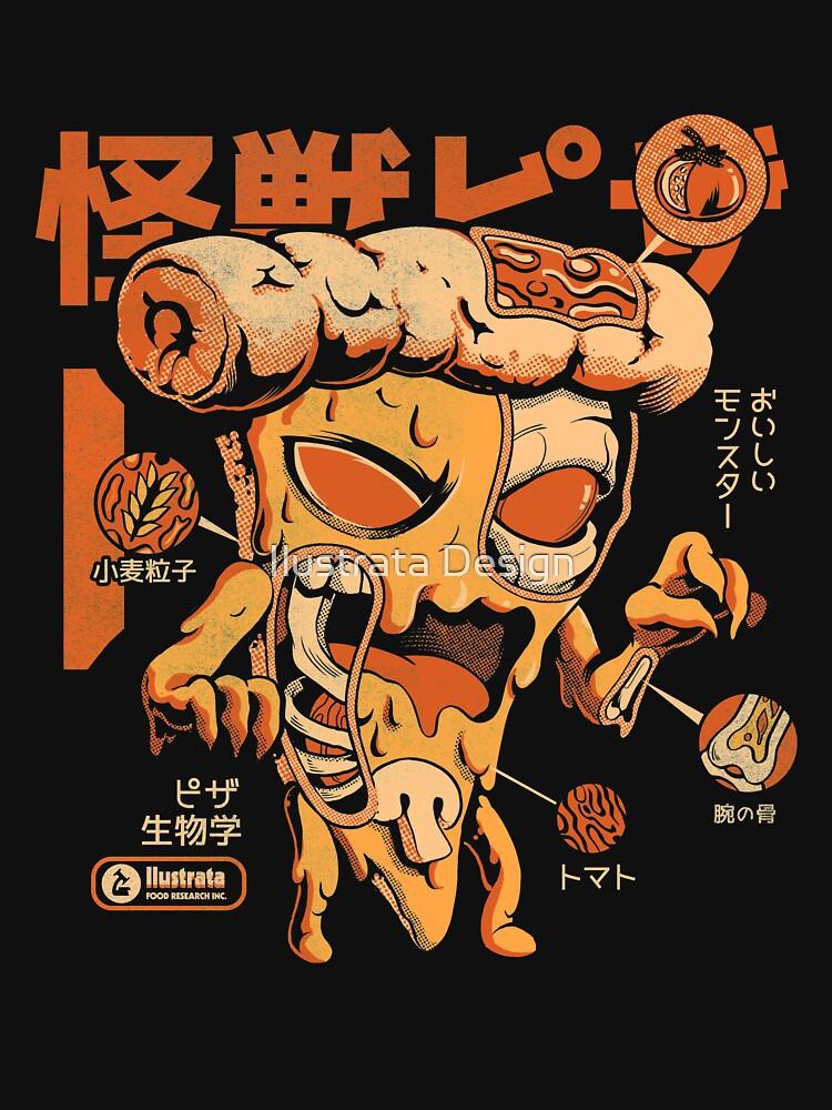 Pizzazilla X-ray by ilustrata