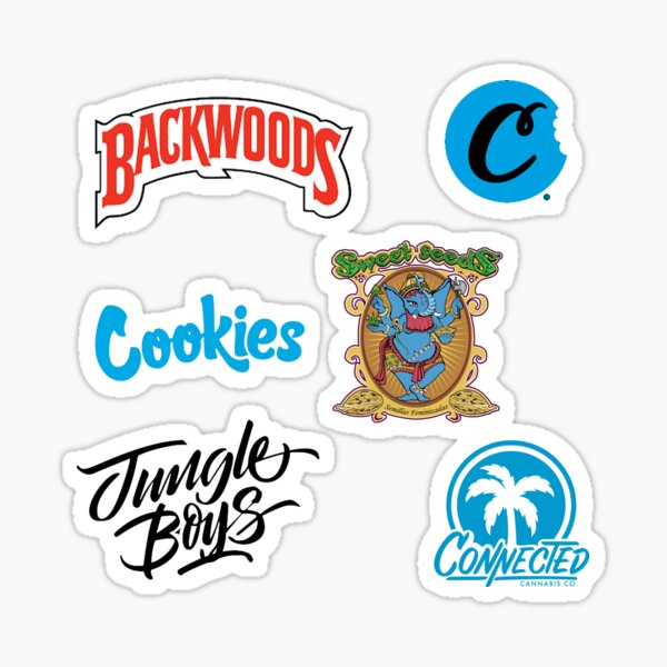 Cannabis Dispensary -  Sticker Collection - 420 Gifts Sticker