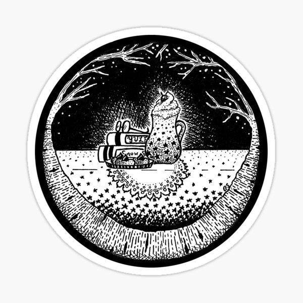 December Portal Sticker