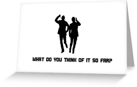 Morecambe & Wise - What Do You Think Of It So Far? by Eccentrica