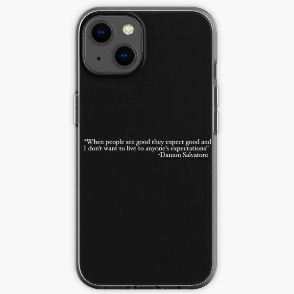 Damon Salvatore Die Decke der Vampire Diaries iPhone Flexible Hülle