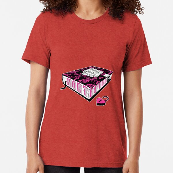 Mortified Diary (Pink Text) Tri-blend T-Shirt