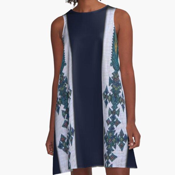 Ethiopian dress, የኢትዮጵያ የባህል ልብስ A-Line Dress