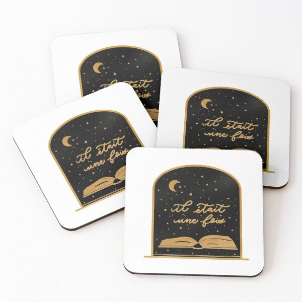 Once upon a time Coasters (Set of 4)