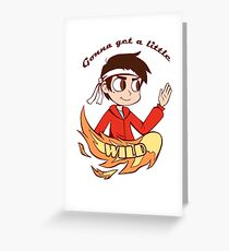 Marco Diaz Star vs the forces of evil Greeting Card