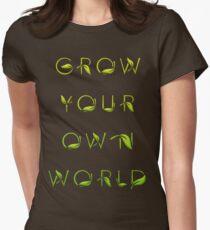 Grow Your Own World Gardening T Shirt T-Shirt