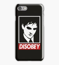 disobey peng iPhone Case/Skin