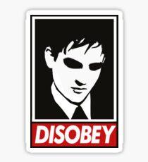 disobey peng Sticker