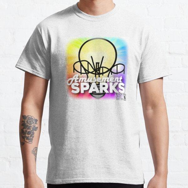 Amusement Sparks Square Vignette Logo Classic T-Shirt