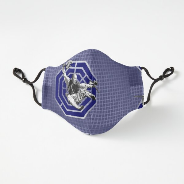 Bagua Monk in Blue Fitted 3-Layer
