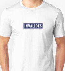 INVALIDES Metropolitain Unisex T-Shirt