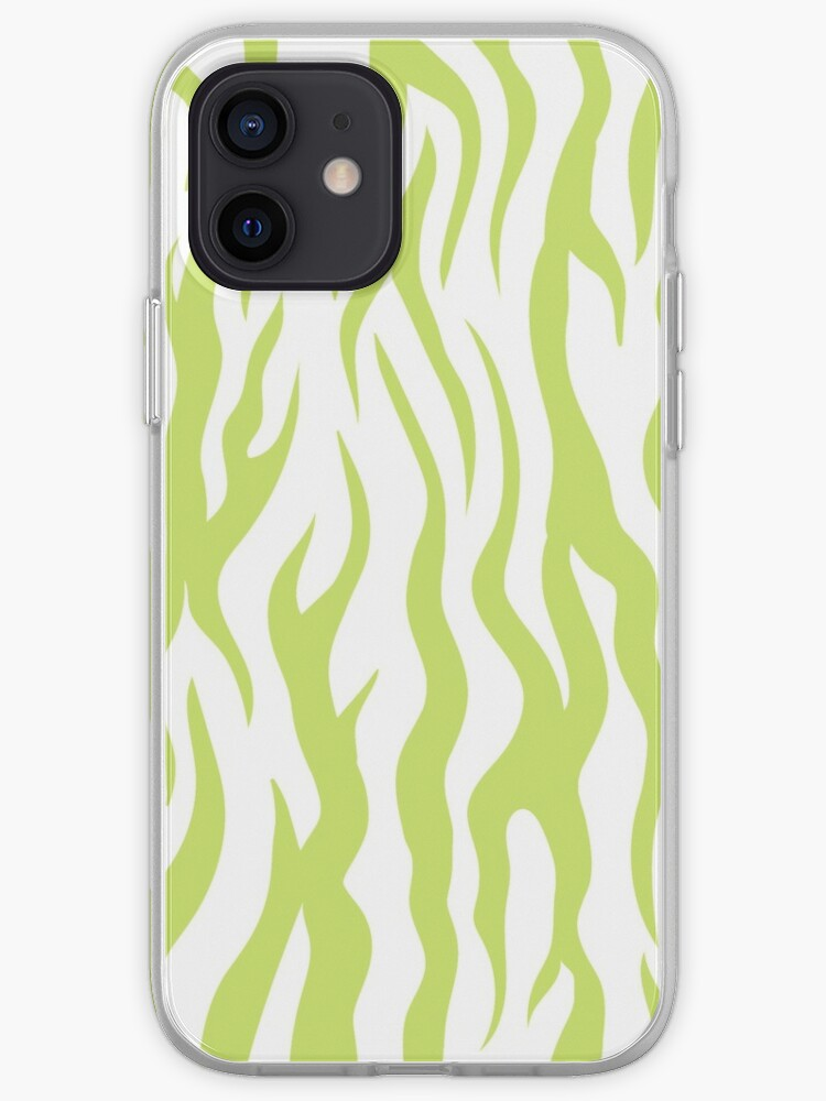 Green Zebra iPhone Case