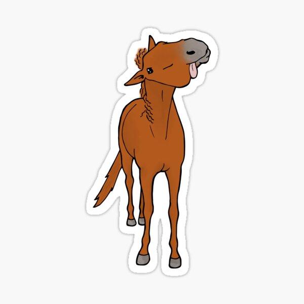 Bello - Chestnut Thoroughbred Sticker