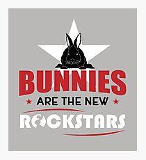 Bunnies are the new rockstars Fotodruck