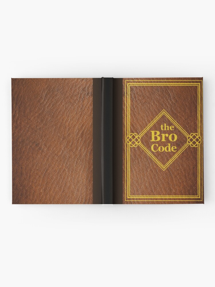 Alternate view of HIMYM - The Bro Code Hardcover Journal