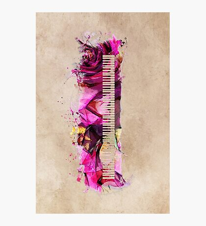Keyboard Photographic Print