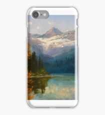 JOHN FERY Avalanche Lake iPhone Case/Skin