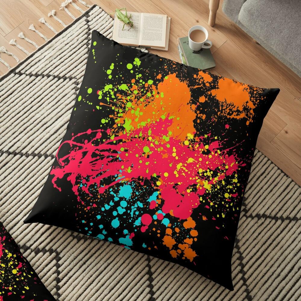 Grunge It Floor Pillow