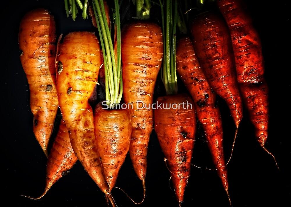Fresh Carrots anyone? by Simon Duckworth
