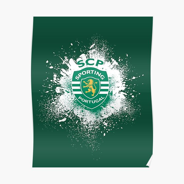 In my life only Portugal, Sporting Lisbon Poster