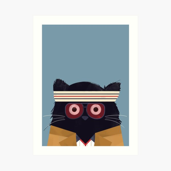 Cat Tenenbaum  Art Print