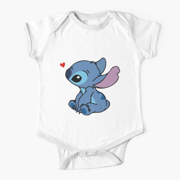 Stitch In Love !! Body manches courtes