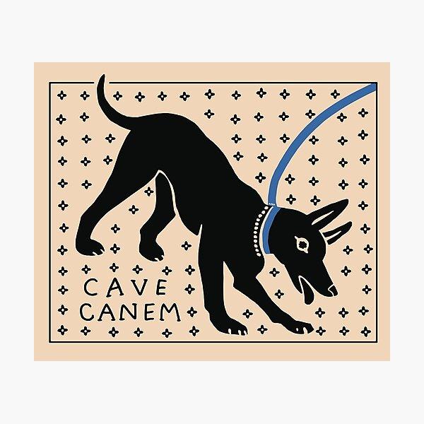CAVE CANEM Photographic Print