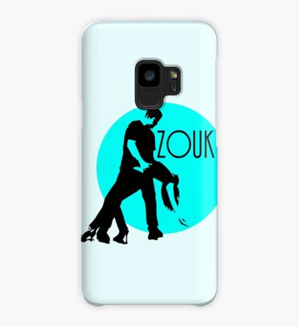 zouk dancers - blue moon Case/Skin for Samsung Galaxy