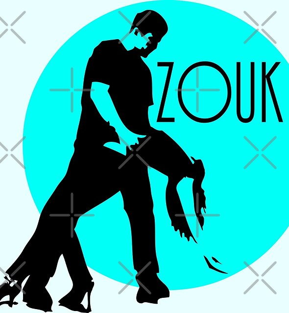 zouk dancers - blue moon by cglightNing