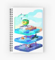 Let's go on an adventure Spiral Notebook