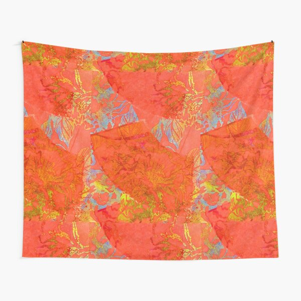 Red Fans RB Tapestry